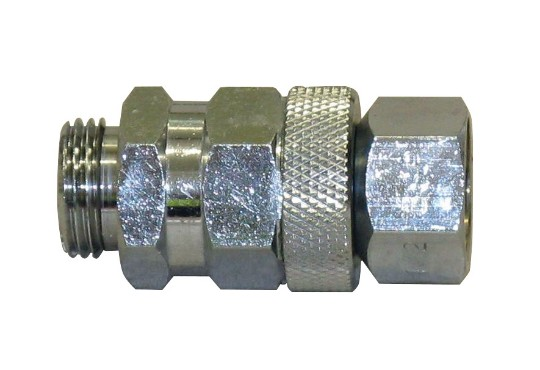 1/2 inch M to 1/2 inch F swivel connecto