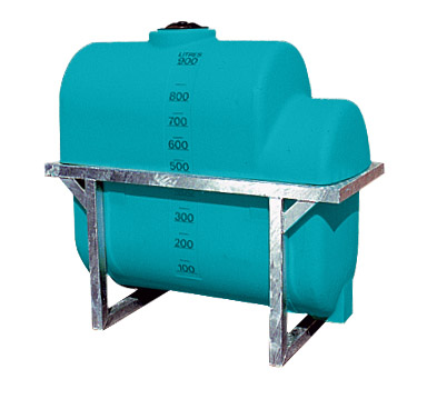 900L Active side mount tank with skid