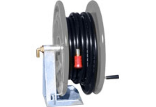 Fire fighting poly hose reel