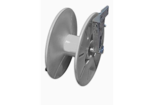 50 metre side mount hose reel