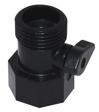 1 inch GHT M/F Ball valve | black