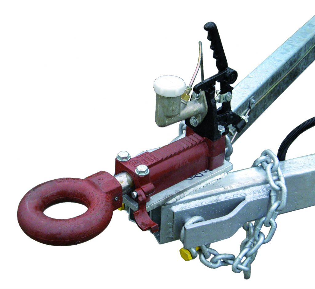 Ring hitch to suit pintle hook