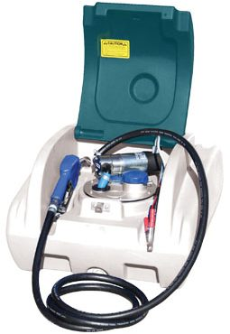 100L Rapid Blue unit with pump cover