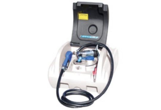 200L Rapid Blue unit with pump cover
