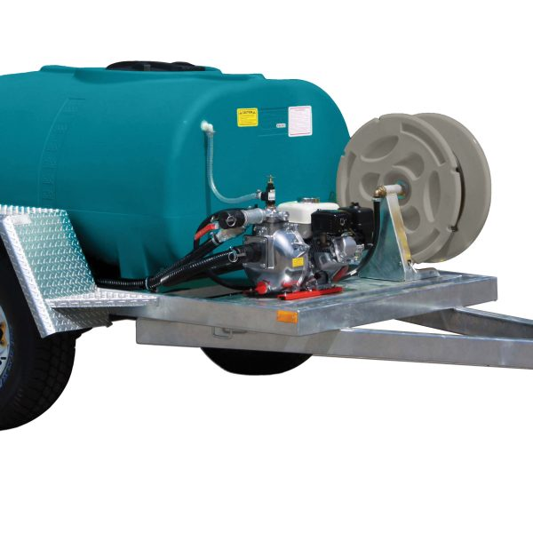 1200 litre Fire Ranger trailer - on farm