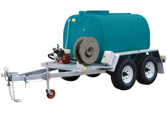 3000 litre Fire Ranger trailer - on farm