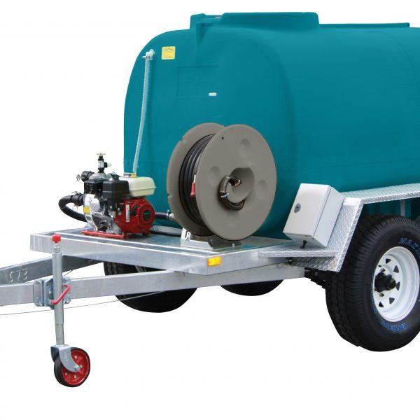 3000 litre Fire Ranger trailer - on farm
