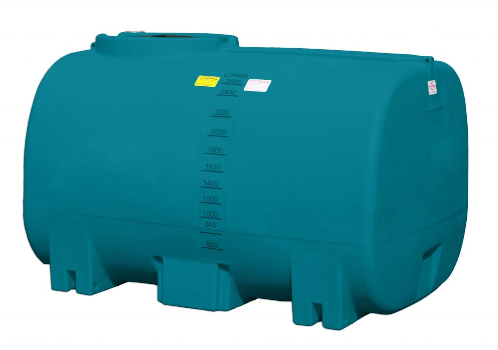 2500L Active water cartage tank