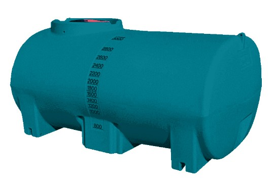 3000L Active water cartage tank