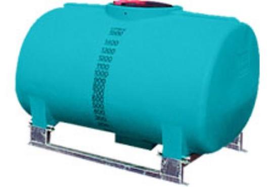 1500L Active low profile spray tank