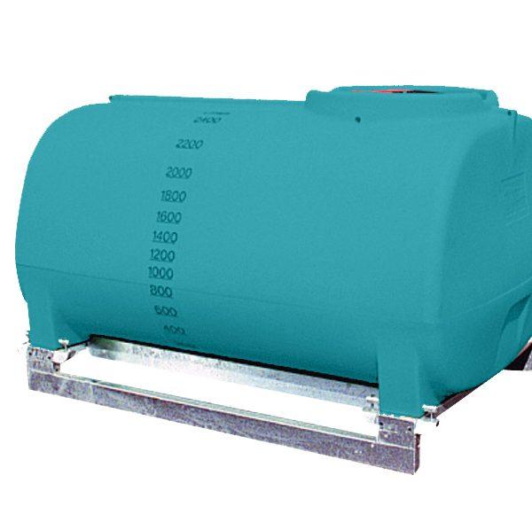 2500L Active low profile spray tank