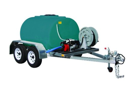 1500L Fire Marshal Trailer - on farm