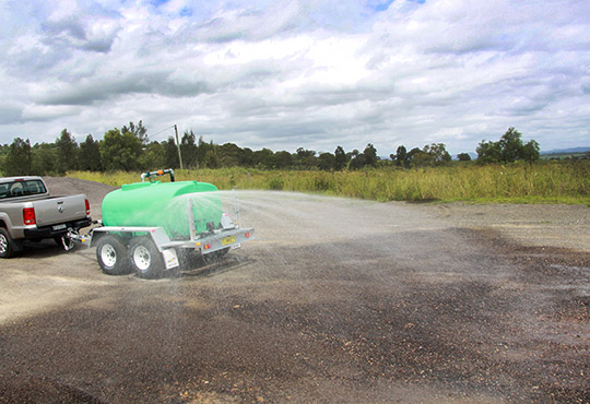 Watering and Dust Suppression Trailers