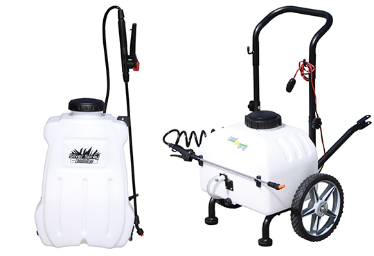 12 Volt Backpack & Trolley Sprayers
