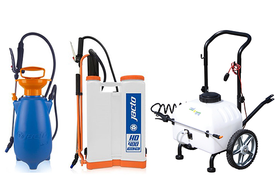 Hand, Backpack & Trolley Sprayers