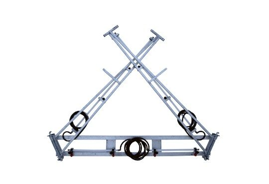 6m Steel Boom with Breakaway Boom Arms