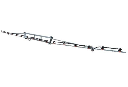 8m Steel Boom with Breakaway Boom Arms