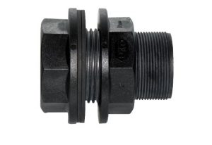 2 inch poly tank fitting Reverse Thread