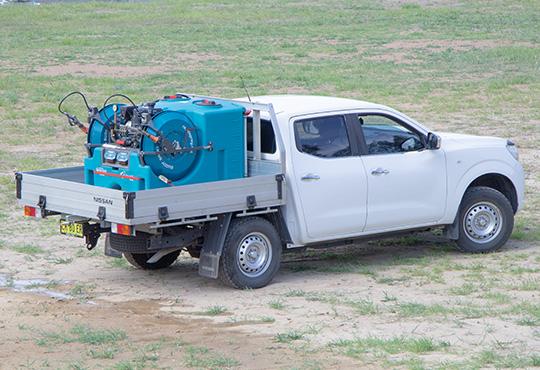 600L SprayScout Twin Buddy   UTV Sprayer
