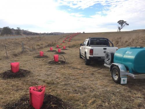 The Bushfire Store helped Paul with his Ultimate Field Sprayer